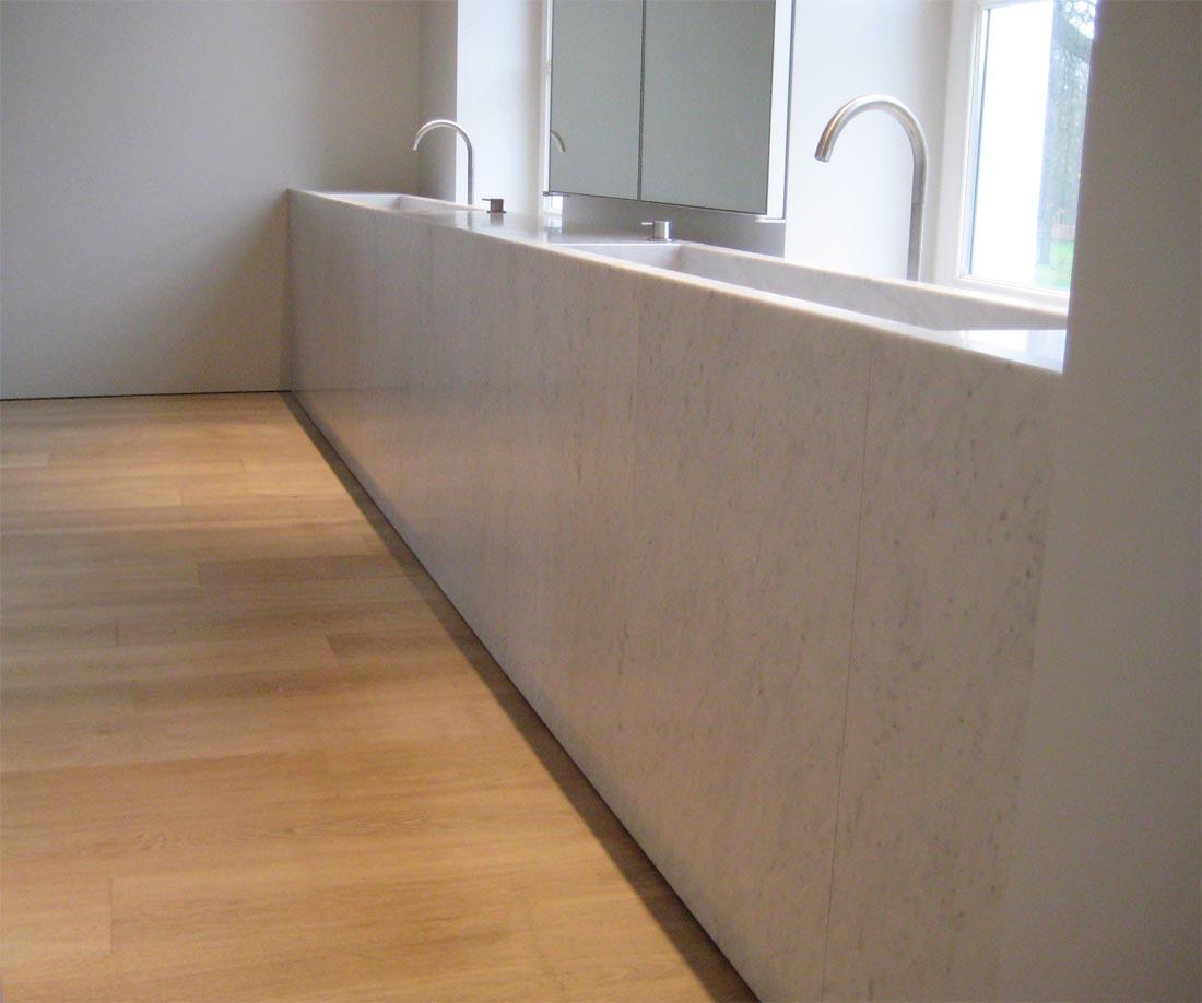 Carrara Marmer Keuken : Extra Bianco Carrara
