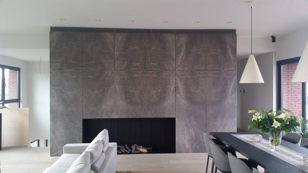 "Emperador Grey/Sinai Pearl (Chambolle) ""architect: Peeters – Van Eupen"""