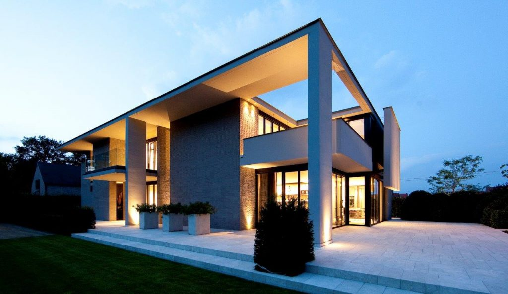 "Mediterranean Green ""architect: Verhamme – Devel"""